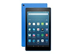 "Amazon Fire HD 8"" (2016) Tablet - Blue"