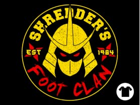 Shredder's Foot Clan