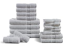 18PC Bath Towel Set (Your Choice Color)