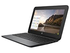 "HP 11"" 11-G4 Intel 32GB SDD Chromebook"