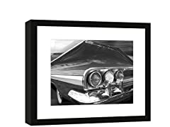 Framed Chevy Tail