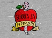 SCHOOL'S IN