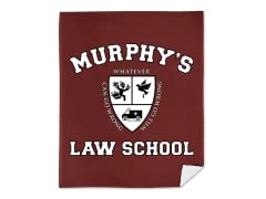 """Murphy's Law School"" Blanket"