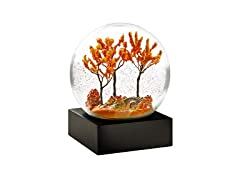 CoolSnowGlobes Autumn Cool Snow Globe