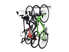 3-Bike Monkey Bars Bike Storage Rack