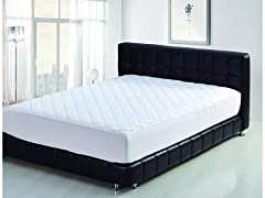 Quilted Hypoallergenic Mattress Pad