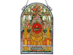 Cathedral Window Panel/ Suncatcher