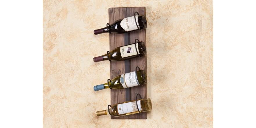 Saxon Wall Mount Wine Storage