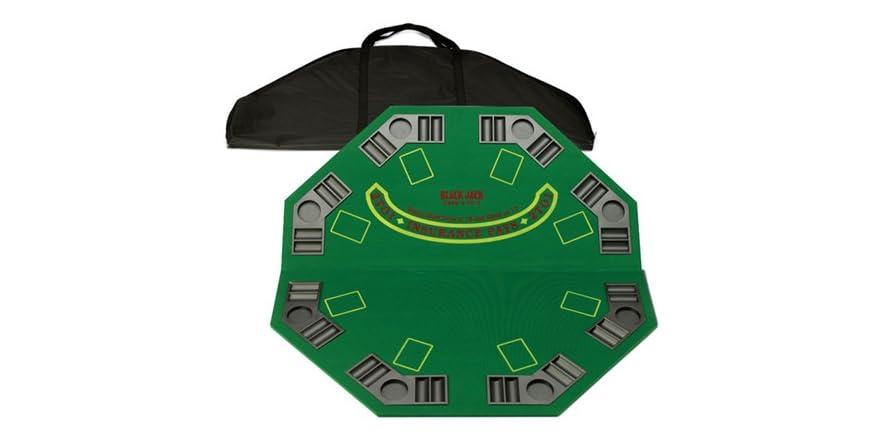 Fat cat poker blackjack folding table topper