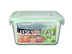 Snap & Seal 33oz. Square Container