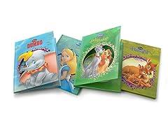 Disney Die-Cut Story Books 4-Pack