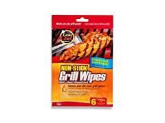 Grate Chef 101-1200 Grill Wipes, 6 Pack (36 Grill Wipes)