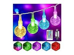 52FT 80LED Totally RGB Christmas Lights