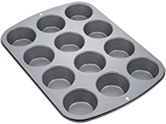 Wilton Nonstick 12-Cup Muffin Pan