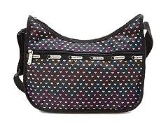LeSportsac Clssic Hobo Handbag,Heartbeat