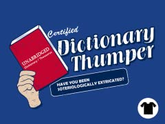 Dictionary Thumper