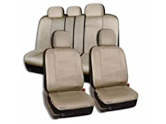 Universal Fit PU Leather Car Seat Cover