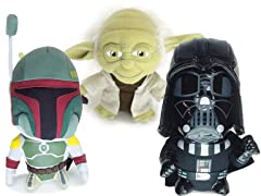 Star Wars Super Deformed Plush-3 Choices
