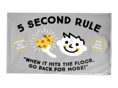 """Five Seconds"" Tea Towel"