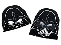 Darth Vader Flip-Down Mask Kids Beanie
