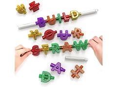 Spelly Straws: Spell & Sip