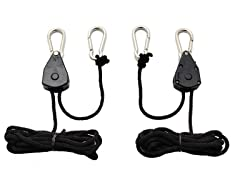 Heavy Duty Rope Ratchet Hangers