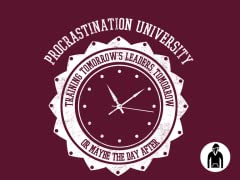Procrastination University Hoodie