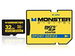 Monster Sport 32GB Class10 microSD Cards