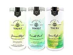 Tocha Organic Tea Trio- All Green