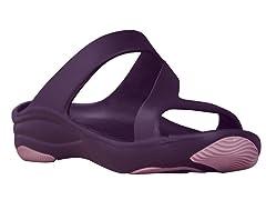 Women's Premium Z Sandal, Plum / Lilac