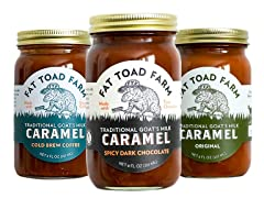 Fat Toad Goat's Milk Caramel Trio