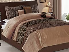 Animal 7pc Comforter Set - 2 Sizes