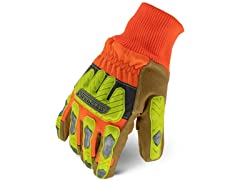 Ironclad Impact Leather Winter Work Gloves