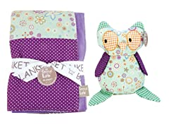 Jelly Bean Blanket & Buddy Set