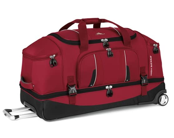 High Sierra Drop Bottom Duffel