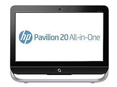 "HP 20"" Touchsmart Quad-Core AIO PC"
