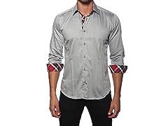 Jared Lang Dress Shirt, Grey