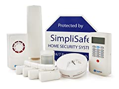 Simplisafe2 Wireless Home Security Starter Pack