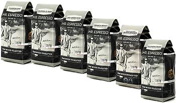 6-Pk. Mr. Espresso Whole Bean Coffee Sampler