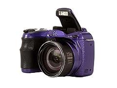 "GE X500BURG 16.0 MP, 2.7"" LCD Dig Cam/Burgundy"