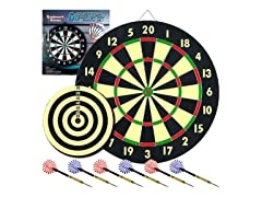 Trademark Game Room Dartboard w/ 6 Darts