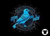 Blue Canary Birdhouse