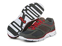 Ultimate Lite Shoes - Pewter/Red
