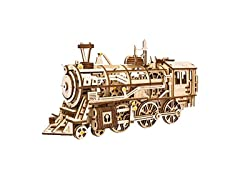 Mechanical Wooden Gear 3D Puzzle Kit