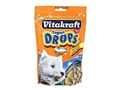 Vitakraft Yogurt Drops 8.8 oz - Various Favors 4pk