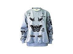 Noonew Women's Butterfly Sweatshirt