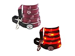 "Dog-E-Glow Texas A&M University ""Aggies"" Leash"