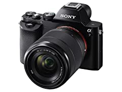 Sony 24.3MP Mirrorless Digital camera w/ 28-70mm Lens