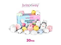 Adorable Mini Squishies Gift Set, 20 PK