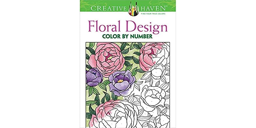 dover creative haven floral design publications coloring book. Black Bedroom Furniture Sets. Home Design Ideas
